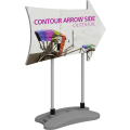 Contour Outdoor Sign Arrow Side - Water Base